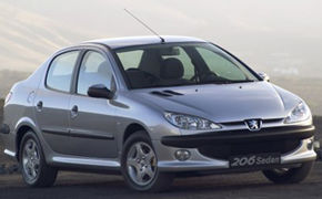 206 Sedan in Romania