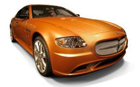 Maserati Quattroporte din aur