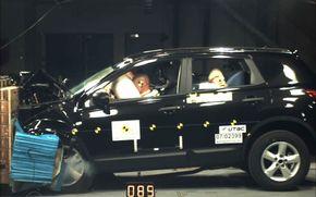 Nissan Qashqai, cel mai bun scor din istoria Euro NCAP