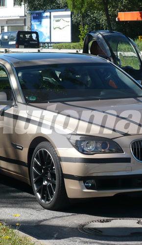 Exclusiv: BMW Seria 7 Sport Pack, spionat