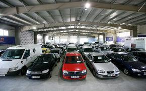 Cea mai mare licitatie de masini SH din Romania