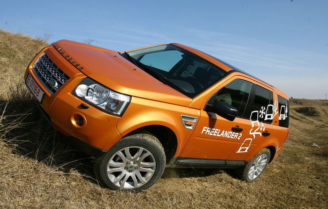 Test drive Land Rover Freelander 2 (2004-2006)