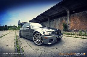 Prima masina cromata din Romania este un BMW M3