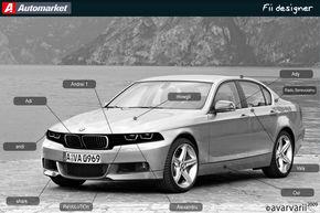 FII DESIGNER: Am desenat BMW Seria 3 asa cum il vreti voi!
