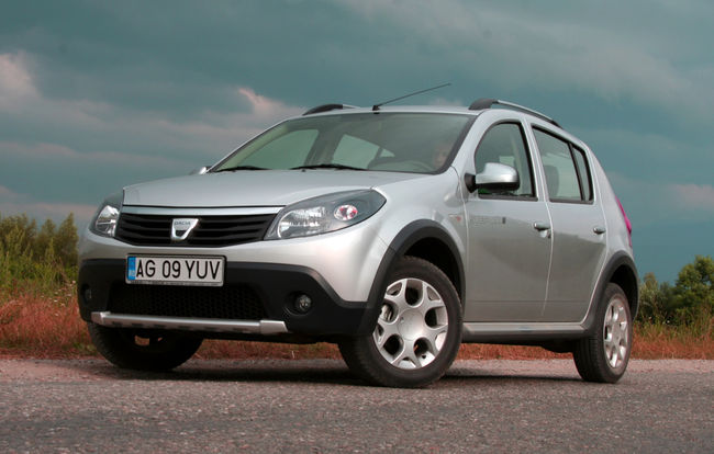 test drive dacia sandero stepway 2009 2012 inaltimea sa automarket. Black Bedroom Furniture Sets. Home Design Ideas