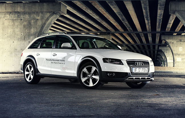 test drive audi a4 allroad 3 0 tdi sa vina iarna. Black Bedroom Furniture Sets. Home Design Ideas