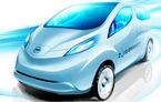 Prima schita cu utilitara electrica de la Nissan