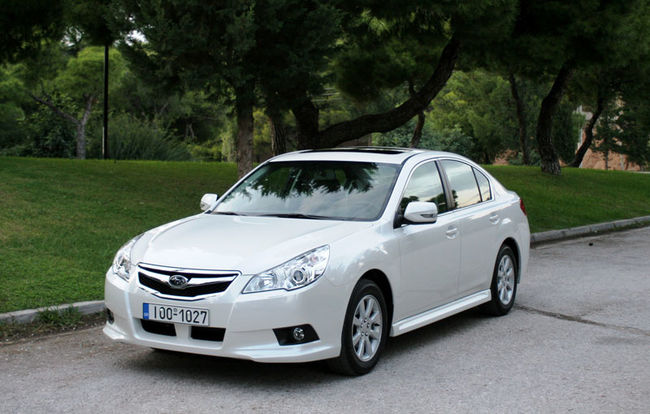 Test drive Subaru Legacy (2009-2015)
