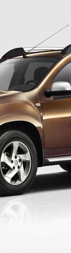 OFICIAL: Iata noul Duster, primul SUV Dacia!