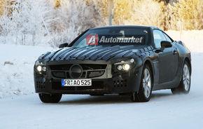 FOTO EXCLUSIV*: Mercedes testeaza noul SL