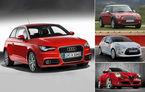 ANALIZA: Noul Audi A1 versus Mini, Citroen DS3 si MiTo