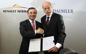 OFICIAL: Daimler a semnat parteneriatul cu Renault-Nissan