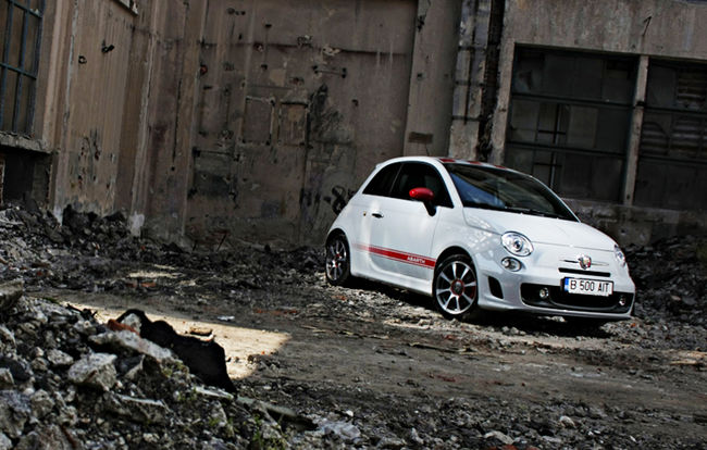 Test drive Abarth 500
