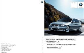 BMW oferă gratuit manualul utilizatorilor în limba română pentru toţi clienţii mărcii
