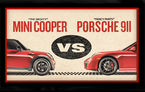 VIDEO: Mini Cooper se întrece cu Porsche 911 la Road Atlanta