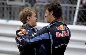 Red Bull provoacă noi tensiuni între Vettel şi Webber