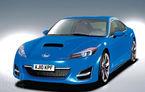 Subaru dezvăluie la Geneva coupe-ul sportiv frate cu Toyota FT-86