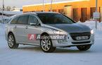 FOTO EXCLUSIV* : Peugeot testează 508 SW