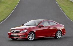 OFICIAL: Mercedes C-Klasse Coupe - imagini şi informaţii complete