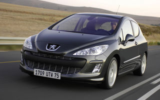 Peugeot 308, vândut într-un milion de exemplare