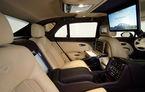 Imagini cu noul interior futurist al luxosului Bentley Mulsanne