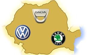 TOP 10: Cele mai vândute branduri auto în România în luna septembrie