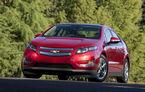 Chevrolet Volt a depăşit pentru prima dată vânzările lui Nissan Leaf în SUA