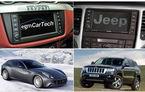 Ferrari FF, California şi Jeep Grand Cherokee au acelaşi ecran multimedia
