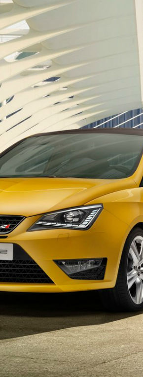 Seat Ibiza Cupra a primit un facelift
