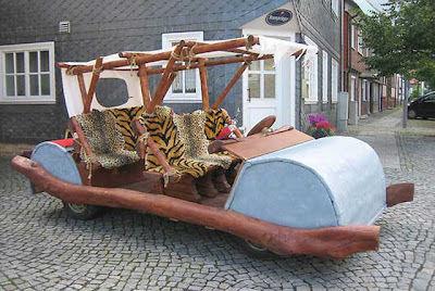Flintstone-mobilul nu a primit aprobarea de a circula pe ÅŸoselele din Germania - Poza 4