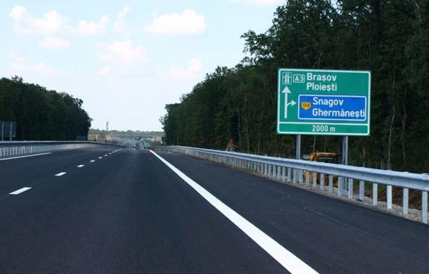 Tronsonul Bucureşti-Ploieşti (A3) şi Autostrada Soarelui (A2) au fost deschise circulaţiei - Poza 1