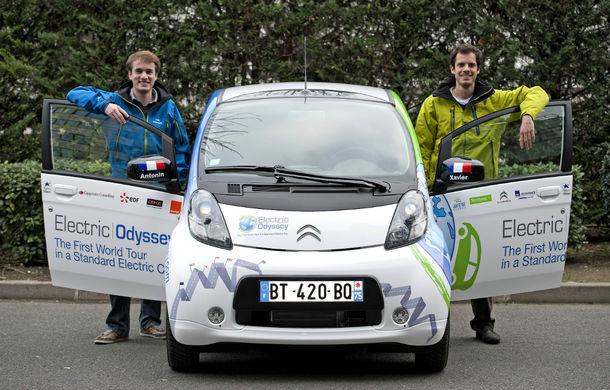 eRace: Două echipe se întrec pentru prima traversare a lumii cu o maşină electrică de serie - Poza 2