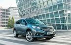 Honda CR-V debutează în toamnă pe piaţa din România