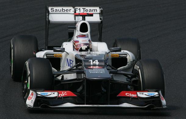 Belgia, antrenamente 1: Kobayashi, cel mai rapid pe ploaie - Poza 1