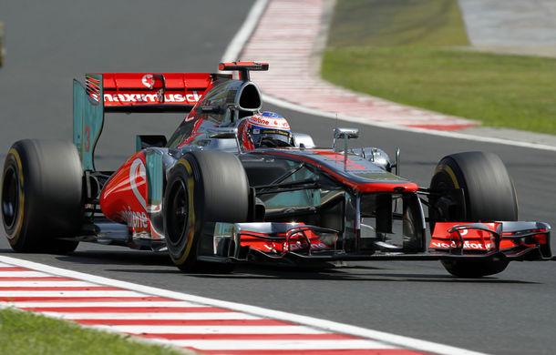 Button a obţinut la Spa pole position