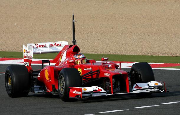 Teste Magny-Cours, ziua 1: Ferrari