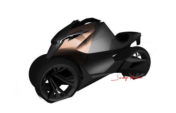 Peugeot onyx concept scooter debuteaz la paris al turi de for Garage scooter peugeot paris
