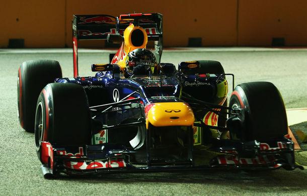 Singapore, antrenamente 3: Vettel domină şi ultima sesiune