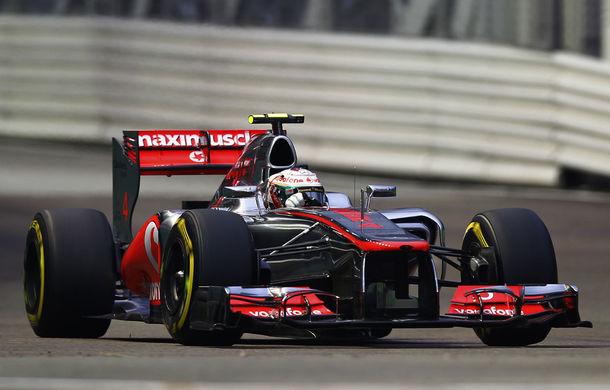 Hamilton va pleca din pole position în Singapore editia 2012 !