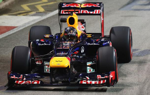 Vettel a câştigat Marele Premiu din Singapore!