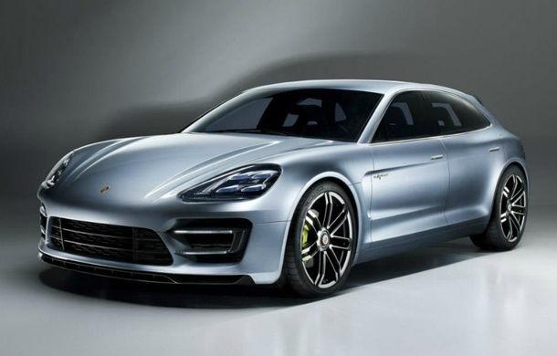 Porsche Panamera Sport Turismo Concept, primele imagini şi informaţii - Poza 1