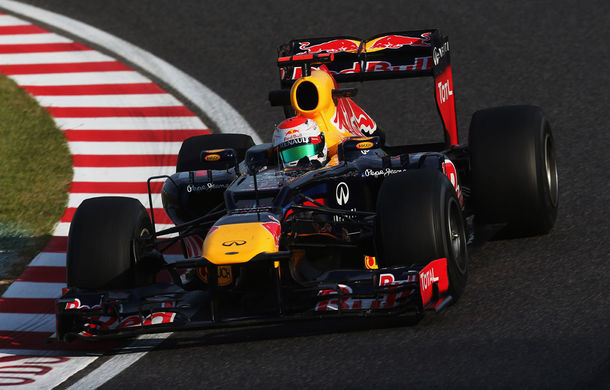 Vettel va pleca din pole position in Japonia !