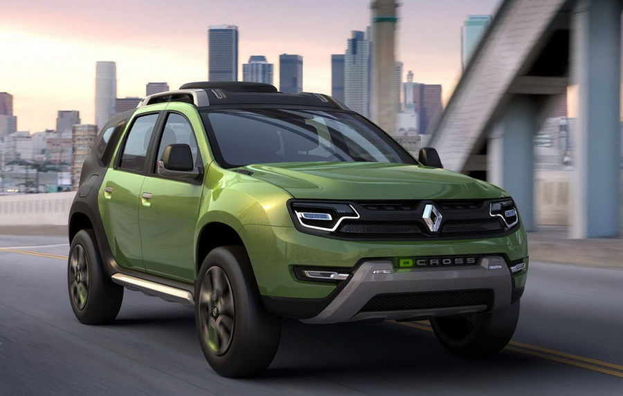 renault dcross concept brazilian bazat pe dacia duster automarket. Black Bedroom Furniture Sets. Home Design Ideas