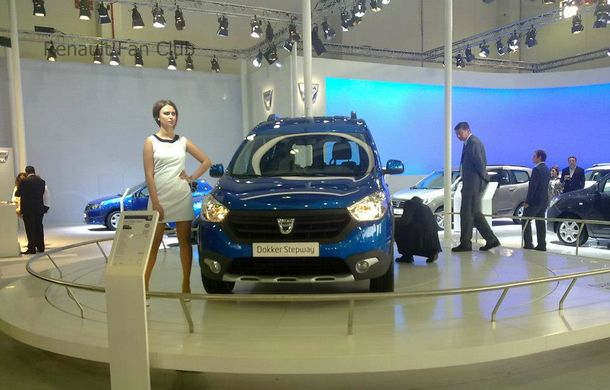 dacia dokker stepway debut oficial la salonul de la istanbul automarket. Black Bedroom Furniture Sets. Home Design Ideas