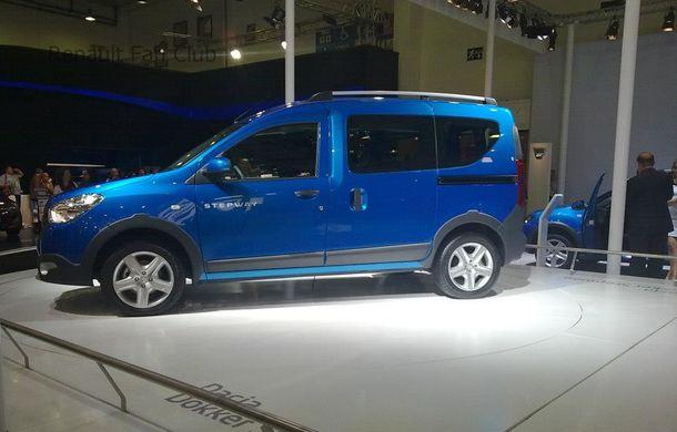 Dacia Dokker Stepway - debut oficial la Salonul de la Istanbul - Poza 3