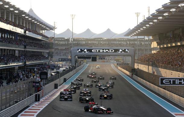 Şase echipe se pregătesc pentru testele tinerilor piloţi de la Abu Dhabi