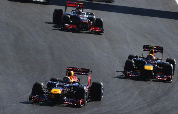 Red Bull şi McLaren