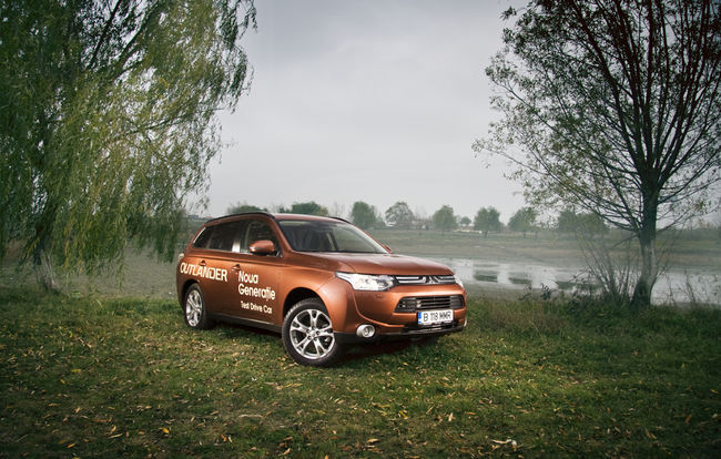 Test drive Mitsubishi  Outlander (2012)