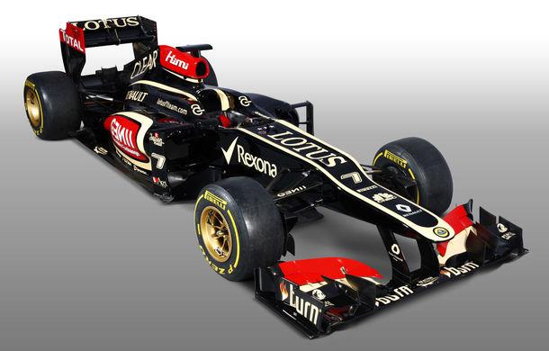 GALERIE FOTO: Lotus a lansat noul monopost E21 pentru sezonul 2013! - Poza 1