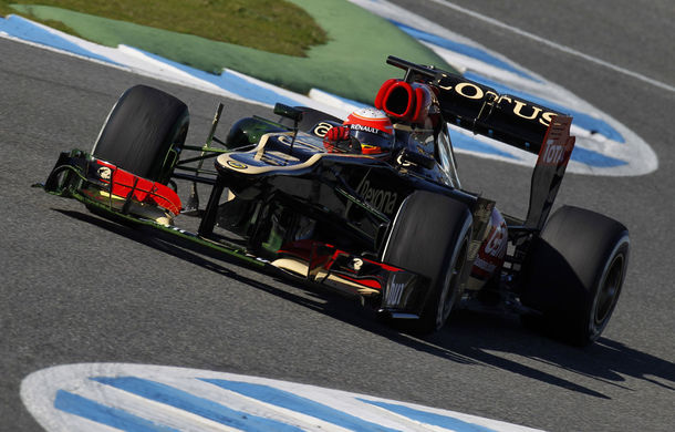 Teste Jerez, ziua 2: Grosjean, cel mai bun timp !